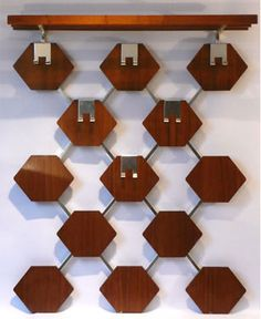 Danish Modern coat rack 1970s