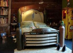 Garage Theme Decor Here Is A Man Cave Hot Rod Bedroom Set