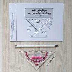 (Werbung wegen Markennennung) Zum Zeichnen/Arbeiten mit dem Geodreieck habe ich für meine Lieben ein kleines Arbeitsheft zusammengestellt,…