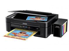 Multifuncional Epson EcoTank L380 Tanque de Tinta - Colorida USB 2.0 de R$ 949,00 por R$ 849,90 em até 10x de R$ 84,99 sem juros no cartão de crédito  ou R$ 807,41 à vista (4% Desc. já calculado.)