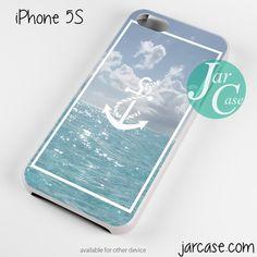 Anchor Sea Art Phone case for iPhone 4/4s/5/5c/5s/6/6 plus