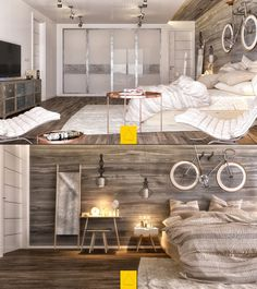 BLACKFITNESSROCKS — homedesigning:   (via 7 Bedroom Designs To Inspire...