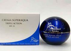 Crema antiarrugas superaqua triple acción Thermal  Teide con aloe vera,extracto de estrella de mar y crisálida de seda. 50 ml. htttps://compraraloe.com