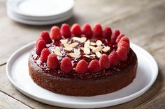 Gluten Free* Chocolate Raspberry Coffee Cake from Martha White®