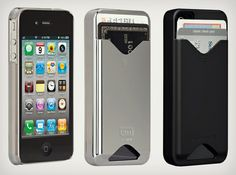 iPhone case that holds your credit card... perfect for gym days and quick grocery shopping!