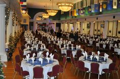 Beaufort Catering - One of the largest facilities in the area, the Lyceum aboard MCRD Parris Island can hold 200-600 people for a special event.