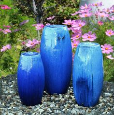 Deco Water Feature Garden Pond Features Outdoor Gardens Fountain Vases