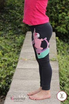 Kinder-Leggins nähen: Schnittmuster erbsenprinzessin MultiFit Leggings, genäht von Künstlerkind