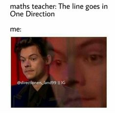 """Omfg this happened in art class. My teacher said """"paint in One Direction"""" and my friends look at me and smirk One Direction Quotes, One Direction Videos, One Direction Pictures, I Love One Direction, Ed Sheeran, Harry Styles Memes, Family Show, 1d And 5sos, Funny Relatable Memes"""