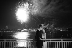 So romantic to have fireworks at wedding. Photography by brklyn view photography