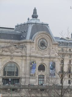 Paris, France - Muse'e d'Orsay 1870, in 1898 it was a railroad station, today it is known as one of the most beautiful museum's in Europe.  This is the center of the building.