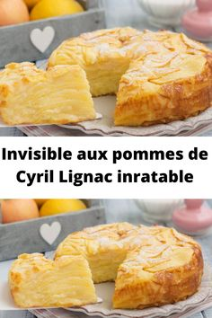 Invisible with apples from Cyril Lignac inratable, Light Desserts, Köstliche Desserts, Delicious Desserts, Dessert Recipes, French Desserts, Batch Cooking, Cooking Recipes, Chefs, Desserts With Biscuits