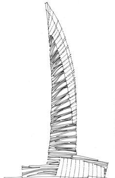 Skyscraper Concept 1