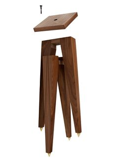 Atocha Design Speaker Stands are designed as a companion piece to our Record Cabinets & Stands or can be used seprately. Walnut Furniture, Furniture Design, Wooden Speakers, Sound Room, Record Cabinet, Sound Speaker, Audio Speakers, Audio Room, Cord Organization