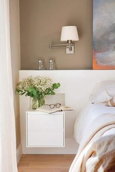 Tips for a shared bedroom Home Bedroom, Bedroom Wall, Bedroom Decor, Beautiful Bedroom Designs, Beautiful Bedrooms, Master Room, Master Bedrooms, My Room, Home Interior Design