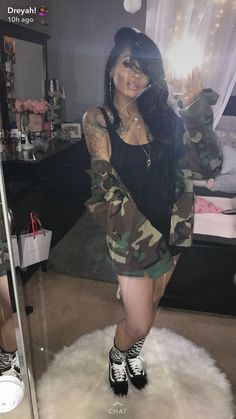 Discover recipes, home ideas, style inspiration and other ideas to try. Chill Outfits, Club Outfits, Sexy Outfits, Fashion Outfits, Pretty Black Girls, Instagram Outfits, Other Outfits, Fashion Killa, Clubwear