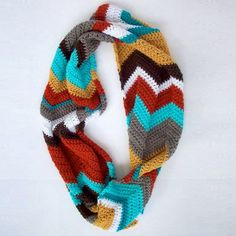 Crochet Scarf Patterns Zigzag : 1000+ images about Crochet - Hats & Scarves on Pinterest Crochet ...