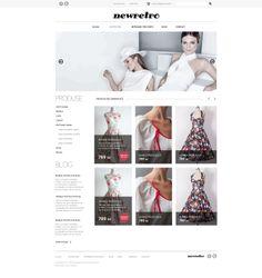 New Retro - Online Shop