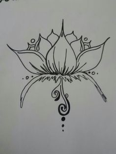 Image Result For Simple Lotus Drawing Artist Pinterest