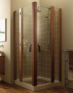 Corner Shower Stalls For Small Bathrooms Corner Shower For Small Bathroom - Visual Hunt Small Shower Remodel, Small Bathroom With Shower, Bathroom Design Small, Bath Remodel, Small Bathrooms, Bathroom Ideas, Bathroom Designs, Shower Ideas, Shower Kits