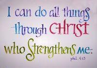 Philippians 4:13-one of my life verses