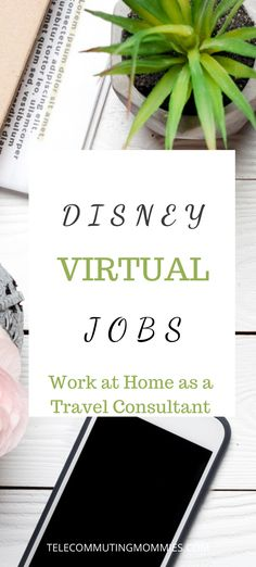What better company to work for than Disney? Do you love to travel? Work at home helping others plan their vacations. Virtual jobs are a great option now for those with kids doing virtual school because of the pandemic. Online Jobs For Moms, Best Online Jobs, Virtual Jobs, Virtual Assistant Jobs, Legitimate Online Jobs, Legitimate Work From Home, Work From Home Business, Work From Home Tips, Home Business Opportunities