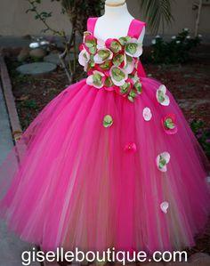 Flower girl dress. XO Flowers  tutu dress, baby tutu dress, toddler tutu dress, wedding, birthday on Etsy, $134.20 AUD