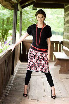 graffic skirt by Kika Tikka, via Flickr