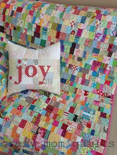 Kid Potential from the March/Aapril issue of Quilty by: crazy mom quilts