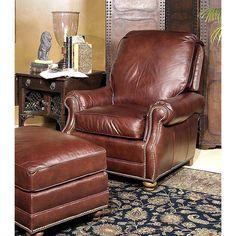 Century Leather Marshall Swivel Pressback Chair CE-LR-16217S