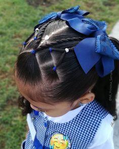 Lil Girl Hairstyles, Work Hairstyles, Creative Hairstyles, Pretty Hairstyles, Children Hairstyles, Kids Hairstyle, Girl Hair Dos, Baby Girl Hair, Toddler Hair
