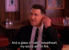 Gordon Cole - My Socks Are On Fire / David Lynch in Twin Peaks