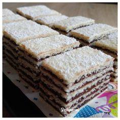 Hatlapos | Betty hobbi konyhája Hungarian Recipes, Orange Crush, Dessert Recipes, Desserts, Nutella, Passion For Fashion, Muffin, Food, Drinks