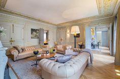 Apartment designed by Gerard Faivre in Paris
