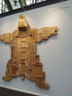 Dimitri Tsykalov, Galerie Rabouan Moussion New Art, Scene, Paris, Vintage, Montmartre Paris, Paris France, Primitive