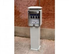 Recharging station for electric vehicles