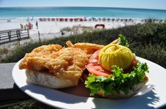 Dining Solo with a Beach View at Sandestin's Elephant Walk