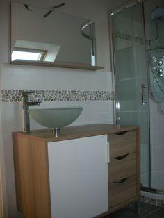 Aménagement salle de bain - Notre blog : l'avancement de notre maison Castor à Evin-Malmaison (dans le Nord Pas-de-Calais).