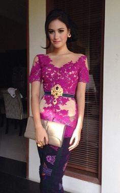 Model Kebaya Simple dan Elegan