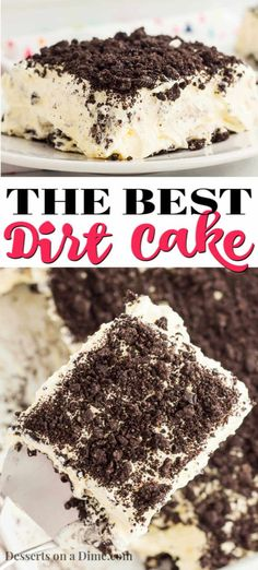 Oreo Dirt Cake Recipe is one of the best no bake treats that takes minutes to prepare. Lots of yummy Oreo cookies combine with a decadent pudding mixture. Dirt Pudding Recipes, Dirt Cake Recipes, Oreo Dirt Pudding, Dirt Cake Recipe With Cream Cheese, Easy Oreo Dirt Cake Recipe, Oreo Recipe, Trifle Recipe, Banana Pudding, Moist Cupcake Recipes