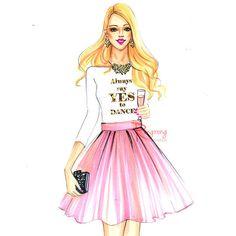 Fashion illustration sketch,Fashion art,Fashion illustration,Chic wall... ($21) ❤ liked on Polyvore featuring sketch