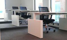 Bureau En T : Tvast bureau tafel t poot cm hoog timmer kantoormeubelen