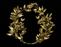 // Greek wreath c. 330-250 BC