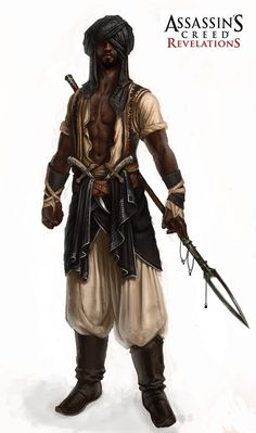 Concept art from the Assassin's Creed saga