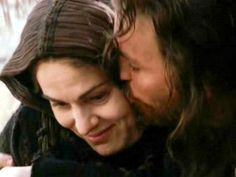 """kariegb: """" The Passion of the Christ - Portrayal of Jesus with Mary by Jim Caviezel and Maia Morgenstern. This scene was beautifully done! """""""