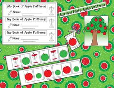 Kindergarten Crayons: Apple Pickin'