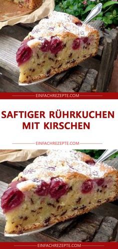 Saftiger rührkuchen mit kirschen 😍 😍 😍 Juicy sponge cake with cherries 😍 😍 😍 Juicy sponge cake with KSponge cake for piesJuicy chocolate cake Coconut Recipes, Baking Recipes, Snack Recipes, Dessert Recipes, Snacks, Party Desserts, Easy Smoothie Recipes, Easy Smoothies, Sponge Cake