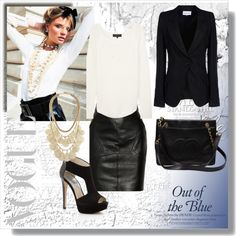 """""""Black & White Hot (My new template)"""" by pmcdl on Polyvore"""