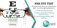 At Opticare, our experienced and highly skilled optometrists carry out a thorough eye test and suggest which optical solution is decent for you. http://www.opticareoptician.co.uk/eye-care/nhs-eye-test/