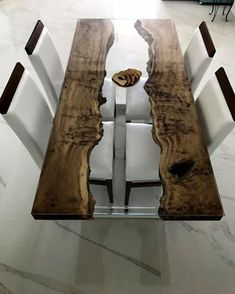 Samana, Diy Resin Wood Table, Epoxy Resin Table, Unique Coffee Table, Coffee And End Tables, Wooden Dining Tables, Rustic Table, Epoxy Countertop, Rustic Home Design